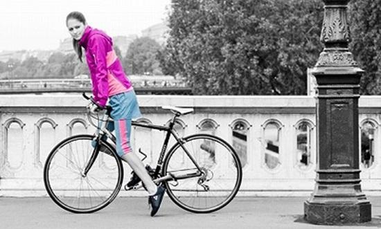 自転車ファッション